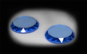 камни для запонок голубая шпинель